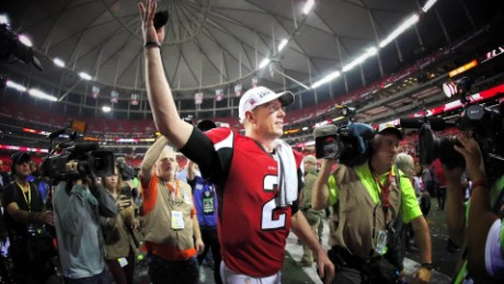 Atlanta Falcons QB Matt Ryan finally in the Super Bowl spotlight