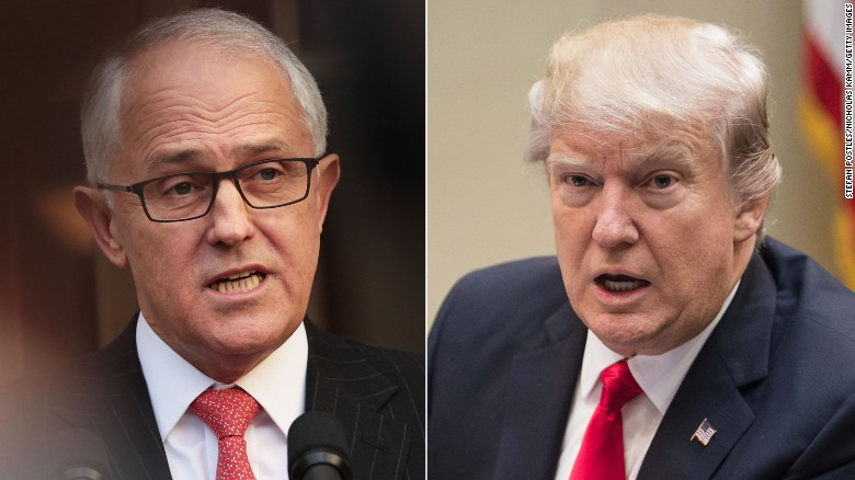Trump questions refugee deal with Australia