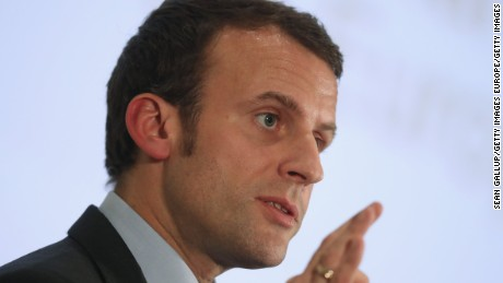 Emmanuel Macron is the youngest candidate in the field.