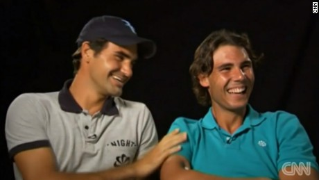 Federer and Nadal first played each other in 2004.