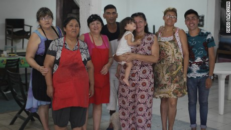 Bilma Acuña runs a nonprofit that fights the use of paco, a destructive drug. These are the mothers who cook with her and help her  educate addicts about the dangers of the drug.