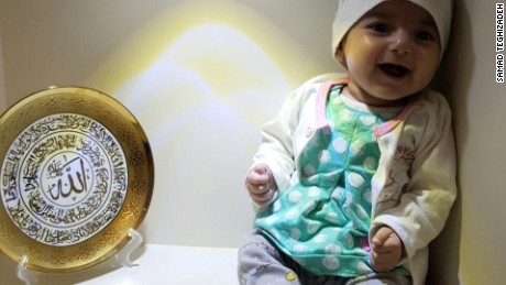 A 4-month-old Iranian girl trying to come to the US for life saving heart surgery is denied a visa due to President Trump's travel ban