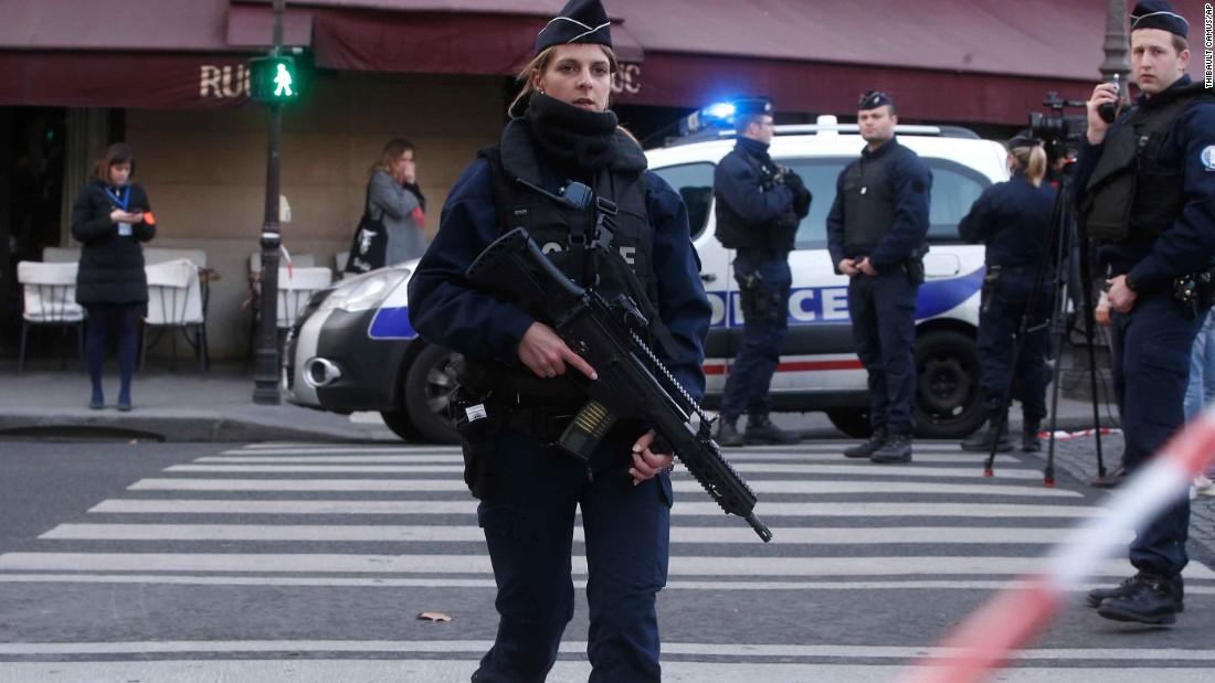 Louvre knife attack: Soldier shoots assailant near Paris museum