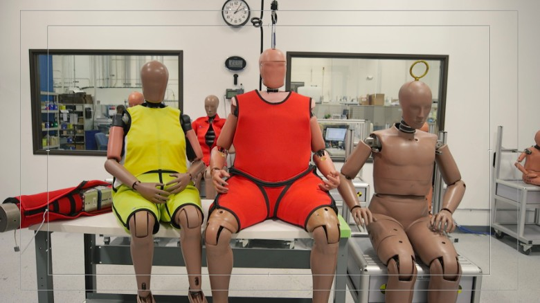 Crash dummies are getting 'supersized'