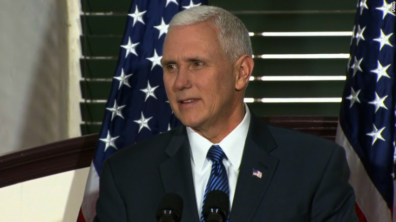 Pence: Neil Gorsuch worthy successor to Scalia
