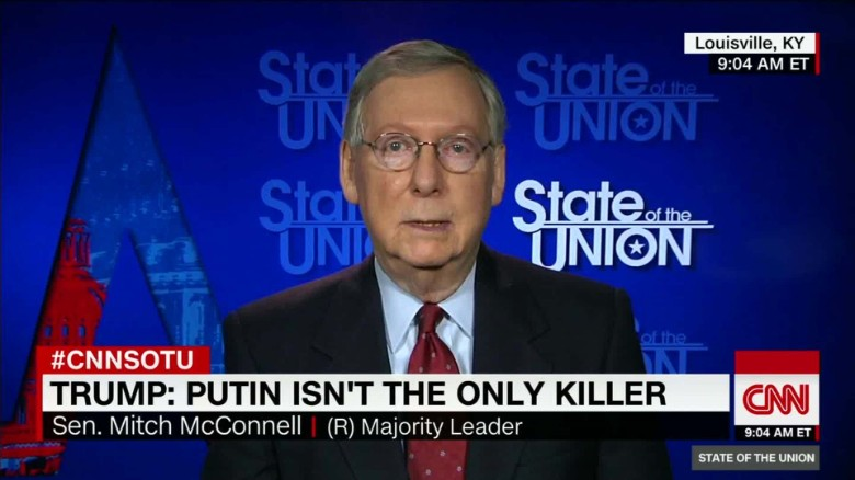 McConnell disagrees with Trump's voter fraud claim