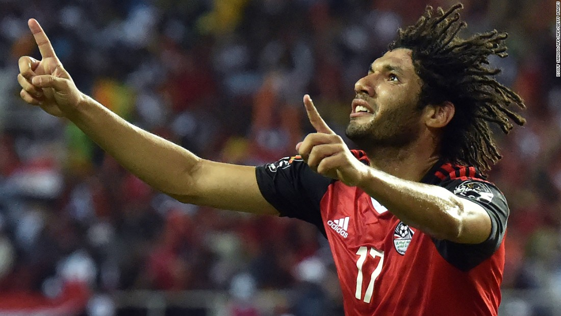 Egypt had taken the lead midway through the first half, as Mohamed Elneny deceived Fabrice Ondoa at his near post.