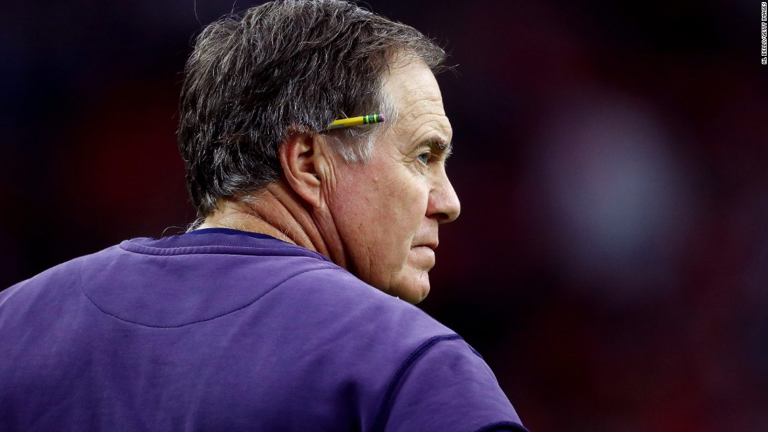 New England coach Bill Belichick has won five Super Bowls, passing Pittsburgh's Chuck Noll in 2017. Belichick also won two Super Bowls as an assistant coach with the New York Giants.