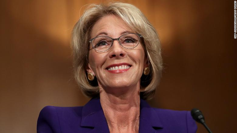 Betsy DeVos is off to a rocky start