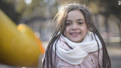 A day with Bana, the Syrian girl who gave a voice to Aleppo