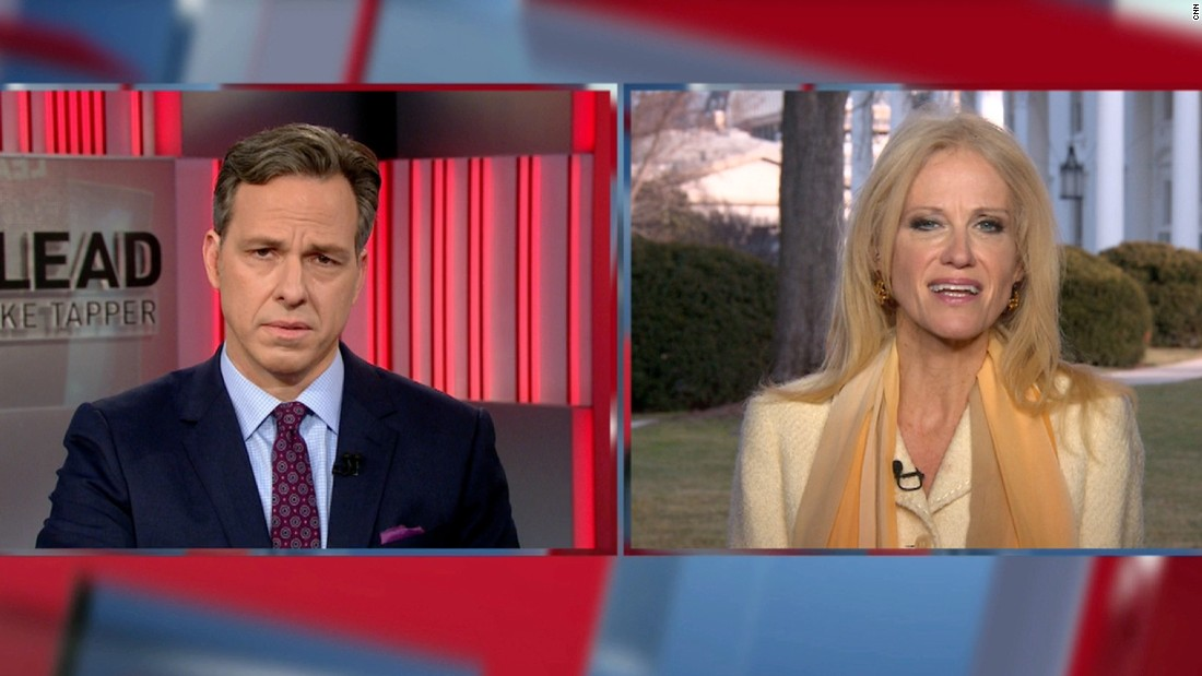 Jake Tapper spars with Kellyanne Conway over WH falsehoods