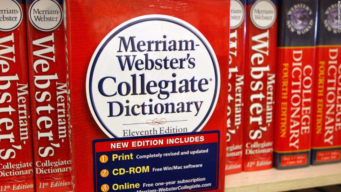 merriam webster adds words to dictionary cnn