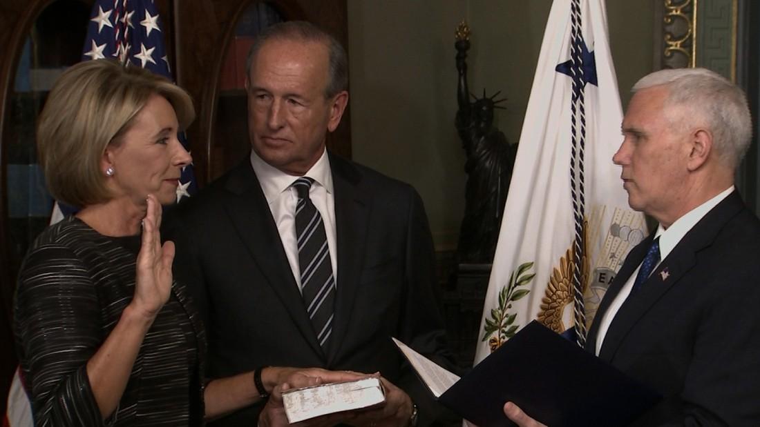 Betsy DeVos confirmed as education secretary; vice president casts historic tie-breaking vote
