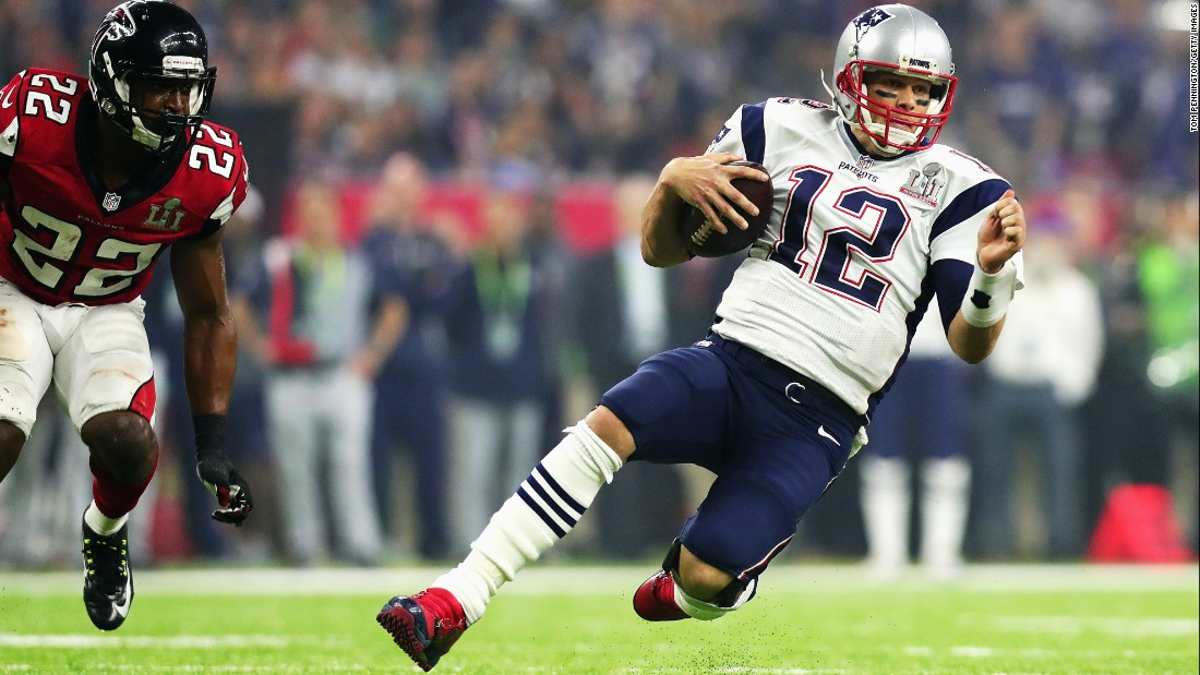 Tom Brady became the second-oldest NFL quarterback to win the Super Bowl this year, at 39. He also holds the record for most Super Bowl victories with five.