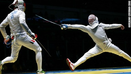 Olympic fencer Daryl Homer went to prison to coach young offenders