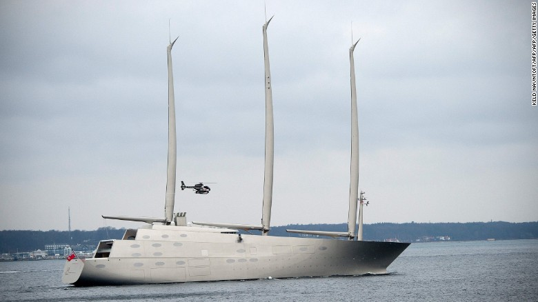 Sailing Yacht A: the world's tallest yacht