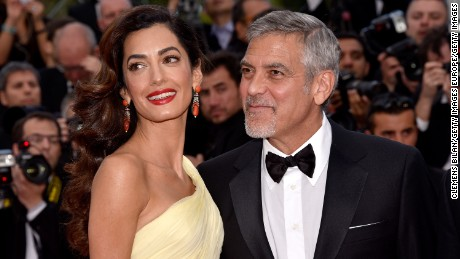 George and Amal Clooney are expecting twins. Matt Damon confirmed the news of the first children for the couple, who married in 2014.