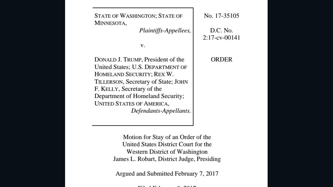 Th Circuit Decision On Travel Ban