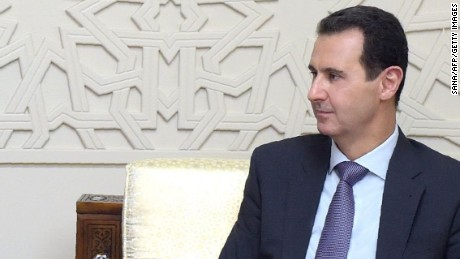 Syrian President Bashar al-Assad in picture released by the official Syrian Arab News Agency (SANA) on February 8.