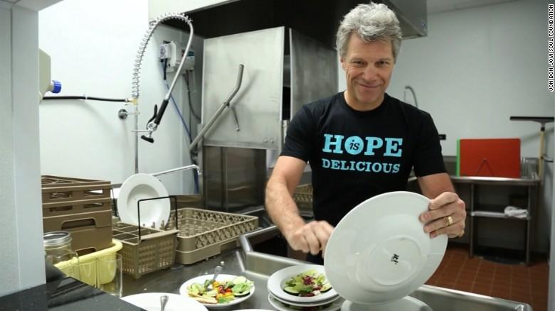 Jon Bon Jovi empowers those in need - CNN