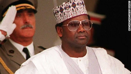 General Sani Abacha seized power in a 1993 coup and reigned for five years.