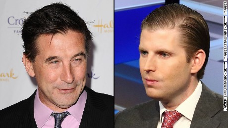 Billy Baldwin and Eric Trump