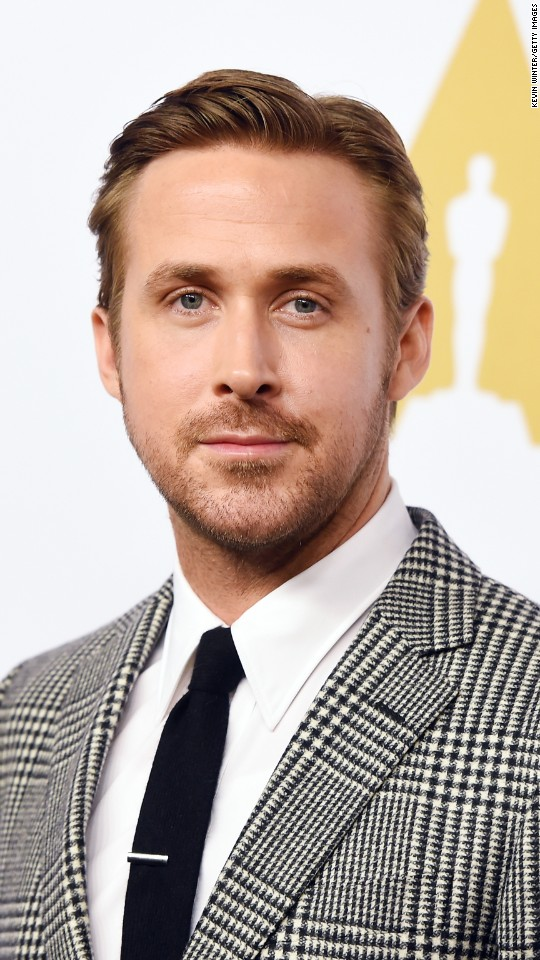 "Ryan Gosling is nominated for best performance by an actor in a leading role in ""La La Land."""
