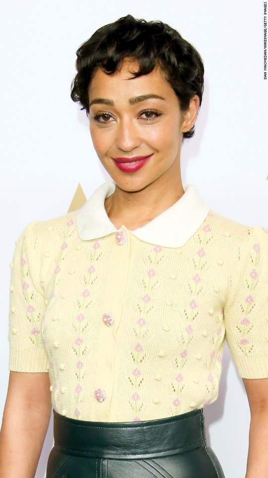 "Ruth Negga is nominated for best performance by an actress in a leading role in ""Loving."""