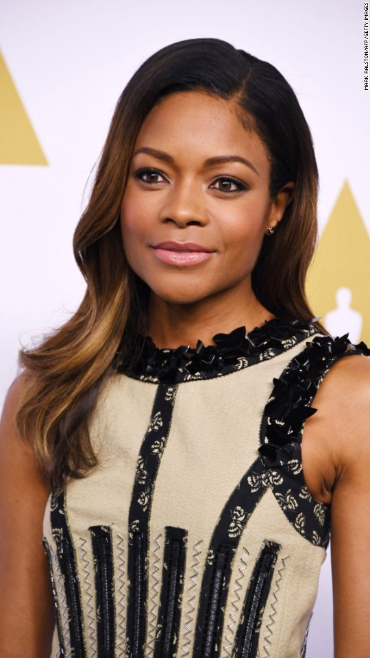 "Naomie Harris is nominated for best performance by an actress in a supporting role in ""Moonlight."""