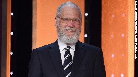 NEW YORK, NY - MAY 21:  David Letterman speaks onstage at The 75th Annual Peabody Awards Ceremony at Cipriani Wall Street on May 21, 2016 in New York City.  (Photo by Mike Coppola/Getty Images for Peabody Awards)