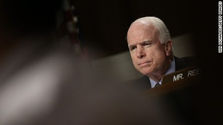 McCain rips Trump administration over Syria policy