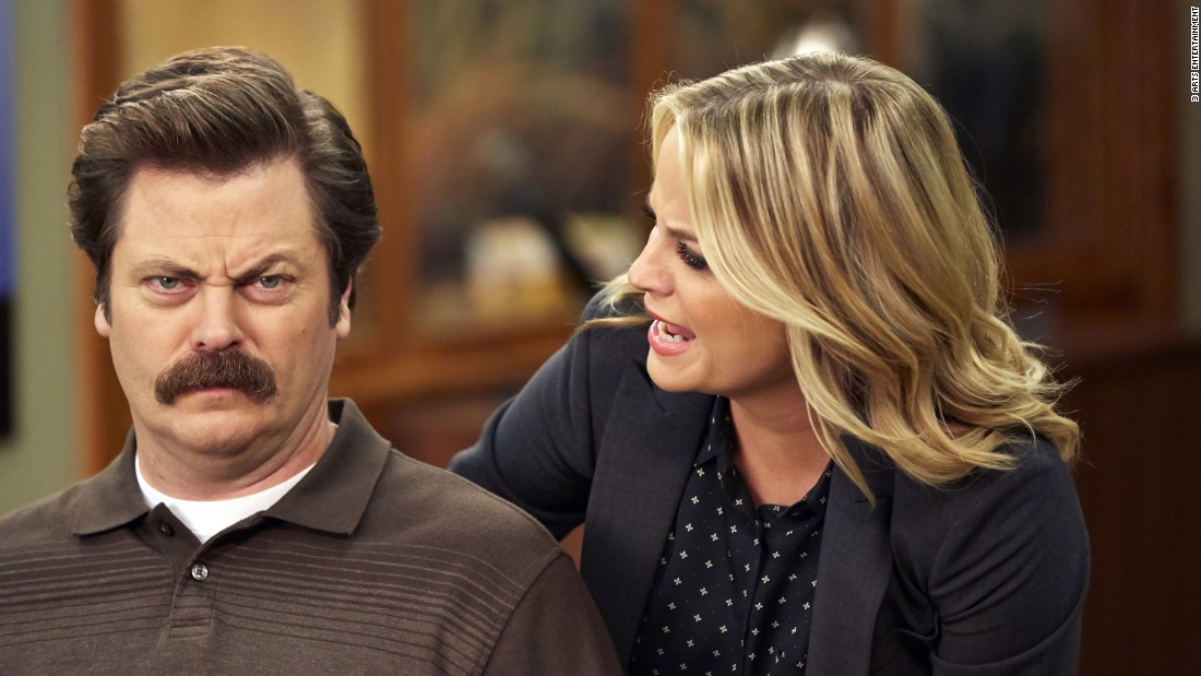 "At first glance, ""Parks and Recreation"" was the natural follow-up to ""The Office"" and ""30 Rock"": It had the reality TV-camera style and the smiling-through-gritted-teeth workplace awkwardness. But ""Parks and Rec"" ditched the sourness of those shows and went straight for the sweet, proving that a comedy filled with warmth and optimism could be just as inventive and funny as those with more teeth."