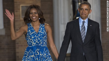 Official portraits of Barack, Michelle Obama unveiled