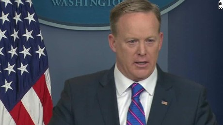 Spicer defends missile talk at Mar-a-Lago