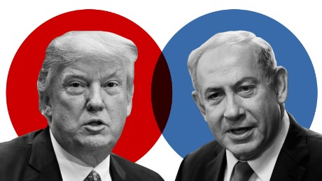 Where Donald Trump and Benjamin Netanyahu stand on the key issues