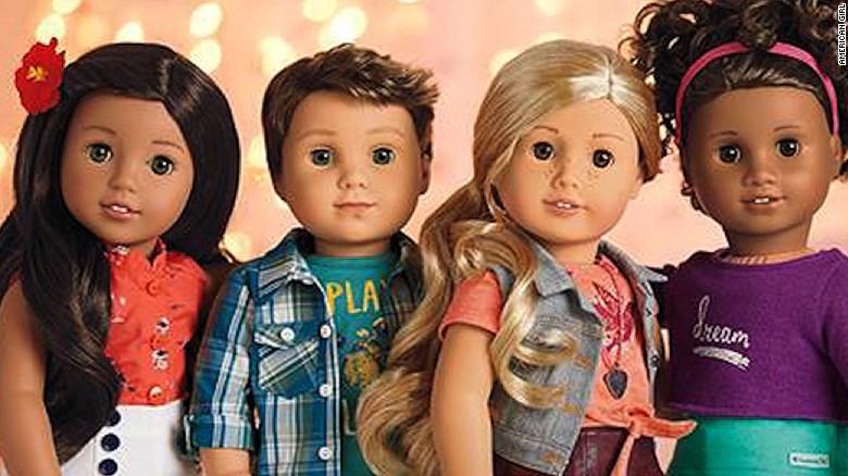 american girls new doll isa boy cnn video