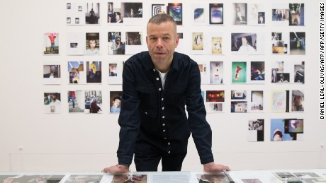 "German photographer Wolfgang Tillmans poses for a photograph during a photocall to promote the forthcoming exhibition ""Wolfgang Tillmans: 2017"" at the Tate Modern in London on February 14, 2017. / AFP / Daniel LEAL-OLIVAS / RESTRICTED TO EDITORIAL USE - MANDATORY MENTION OF THE ARTIST UPON PUBLICATION - TO ILLUSTRATE THE EVENT AS SPECIFIED IN THE CAPTION        (Photo credit should read DANIEL LEAL-OLIVAS/AFP/Getty Images)"