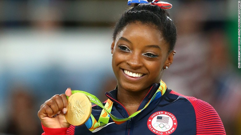 Simone Biles: Favorite stretch? What animal would she be?