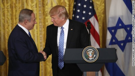 Trump: I can live with 2 or 1-state solution