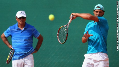 Rafael Nadal and Uncle Toni won 14 grand slam titles together.