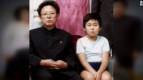 Kim Jong Nam, right, with his father, the late North Korean leader Kim Jong Il.