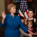 Linda McMahon swearing in