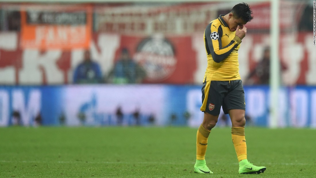 Two of Arsenal's star players -- Chilean striker Alexis Sanchez (pictured above) and Germany midfielder Mesut Ozil -- are yet to extend their contracts and Wenger is in the same boat. A two-year extension to his deal remains unsigned, with his future even  more uncertain due to recent results.