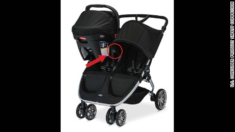 Britax B-Agile and BOB Motion strollers were recalled.