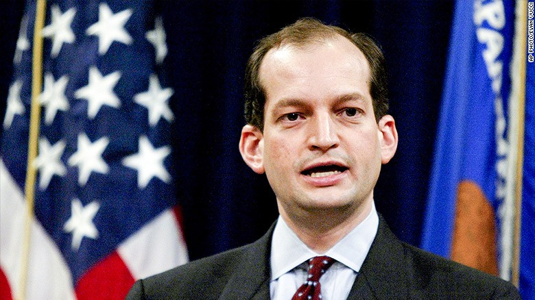 Trump names first Hispanic Cabinet pick, Alexander Acosta ...