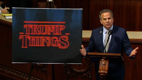 US Rep. compares Trump to 'Stranger Things'
