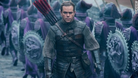 Matt Damon in 'The Great Wall.'
