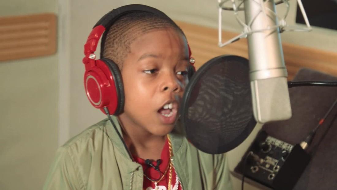 10-year-old rapper seeks to spread 'positive hip-hop'