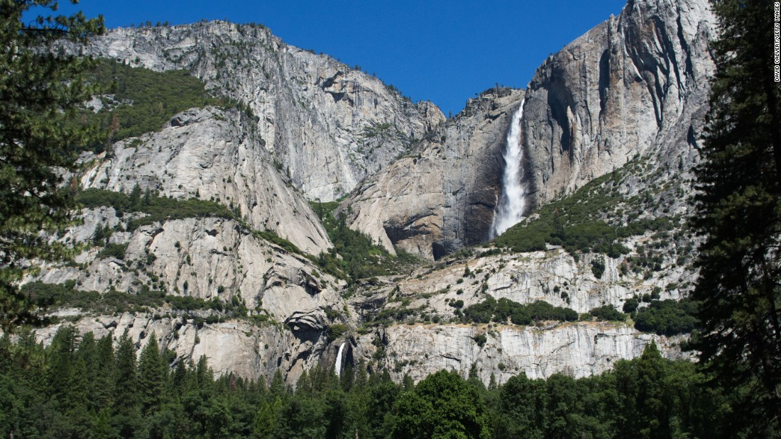 <strong>3. Yosemite National Park, California:</strong> President Abraham Lincoln signed legislation in 1864 protecting a portion of what is now Yosemite National Park. It was the first instance of the US government setting aside scenic wilderness for public use and preservation. Cook's Meadow and Yosemite Falls are shown here.