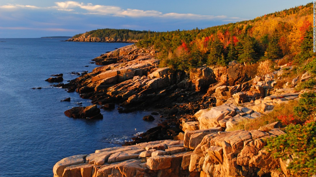 <strong>8. Acadia National Park, Maine: </strong>The first National Park east of the Mississippi, Acadia is the most eastern park and therefore the first US National Park to welcome the sunrise.